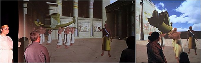 image of the Egyptian Oracle ceremony